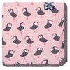 Kickee Pants Lotus Puffin Swaddling Blanket