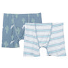 Kickee Pants Cactus Stripe 2 pc. Boxer Briefs Set (Toddler)