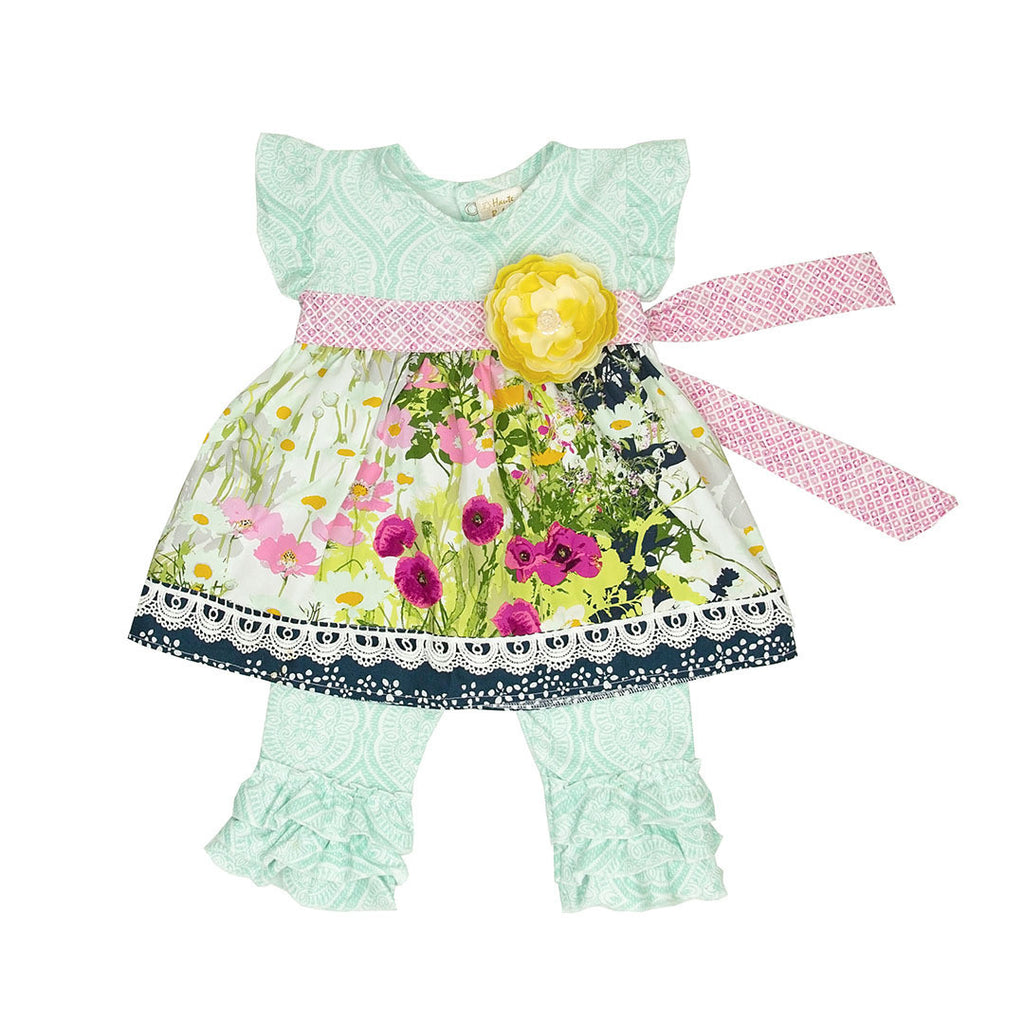 Haute Baby Kaylee's Bouquet Swing Set