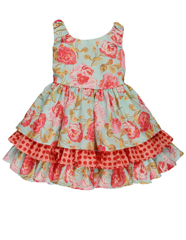 Persnickety Pocket Full of Posies Adaline Dress