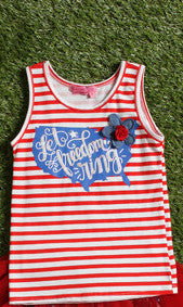 "Havengirl USA ""Let Freedom Ring"" Tank Top"