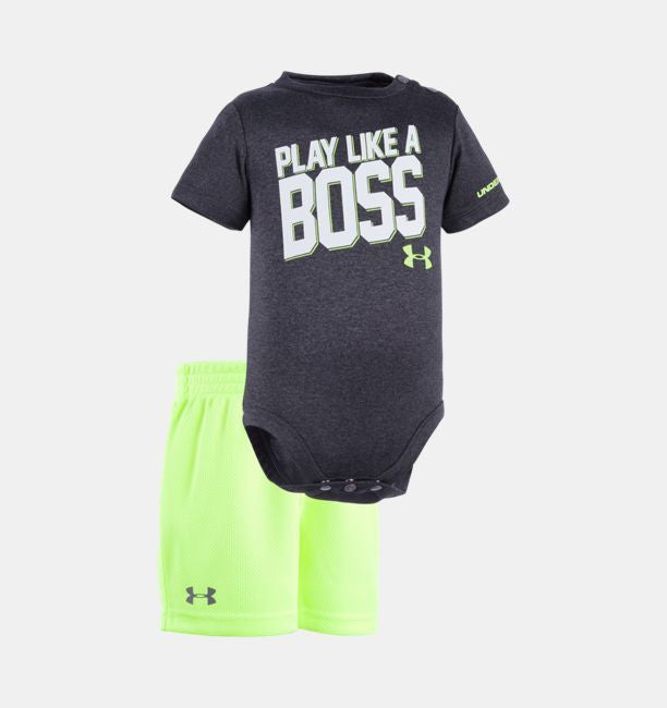 Under Armour Play Like a Boss Onesie Set