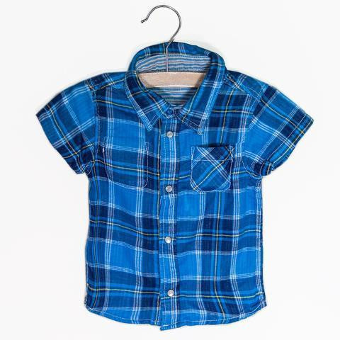 Bitz Kids Reversible Plaid Shirt