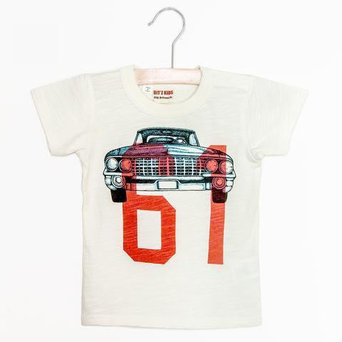 Bitz Kids Car and Number Tee