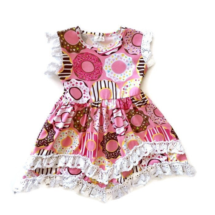 Doughnut Day Twirly Dress