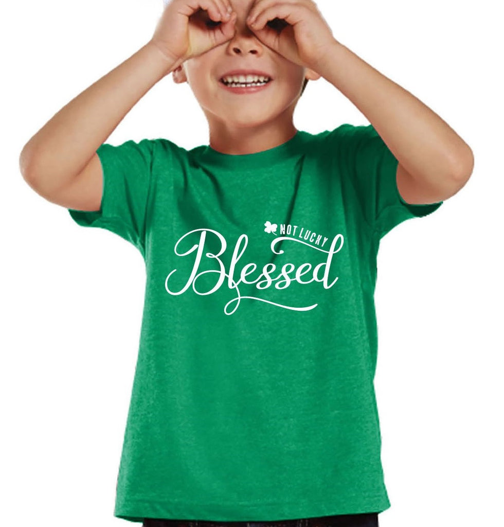 I'm Not Lucky, I'm Blessed Vintage Tee