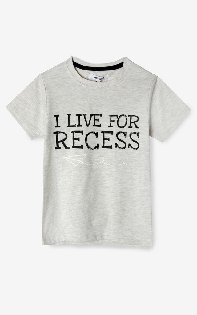 """I Live for Recess"" Tee"