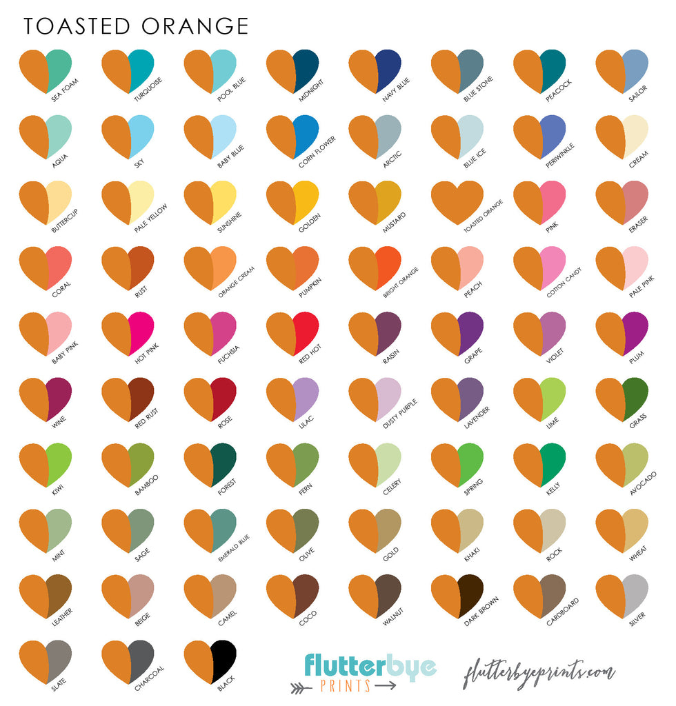 Color options flutterbye prints color gallery color options nvjuhfo Image collections