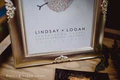 Gold Wedding Inspiration | Lindsay and Logan