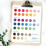 fingerprint guest book color choies