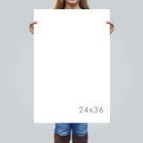 24x36 inch Sign Sizing Reference Guide