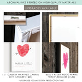 Fingerprint Wedding Guest Book Alternative ::: Isabella
