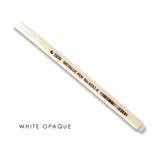 White opaque STA marker for guest book