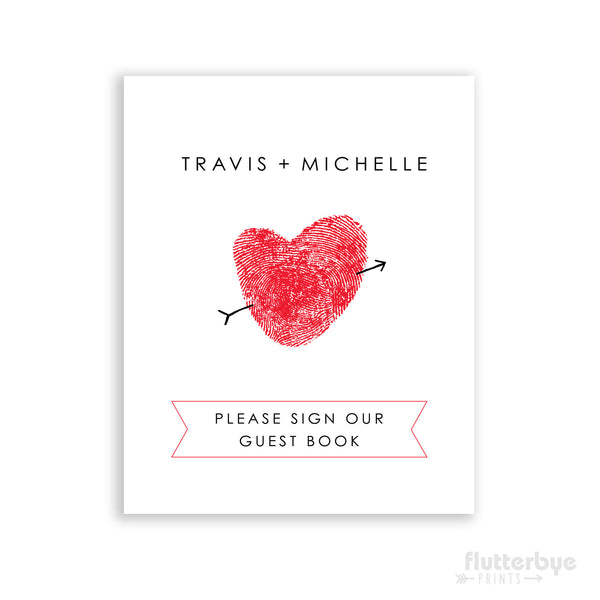 Art Print - guest book alternative