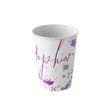 gift for kids personalized 6 oz tumbler dinner cup and plate set