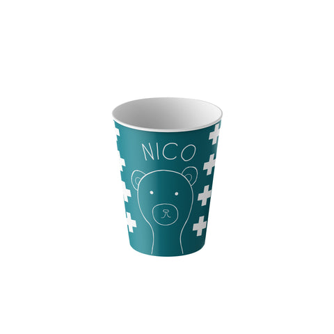 Kids personalized cup matching dinner set with tumbler