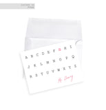 Note Cards - guest book alternative