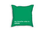 gift for kids personalized favorite color name pillow