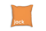My Favorite Color pillow by Flutterbye Prints personalized with child's name