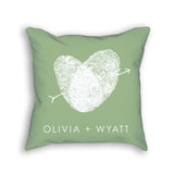 decorative personalized pillow custom gift for wedding or anniversary