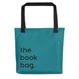 The Book Bag Book Worm Library tote gift idea