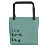The Book Bag green polyester bag