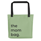 Green tote bag for moms the mom bag