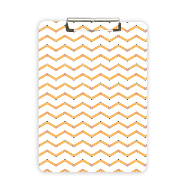 Pencil Chevron Clipboard