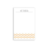Perssonalized Teacher Gift Note Pad Teacher Stationery Gift for Teacher Desk Present from Class