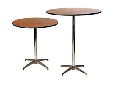 Bistro Tables (Provide Your Own Linen)
