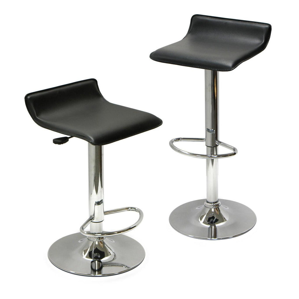 Modern Bar Stool - Black (No Back)