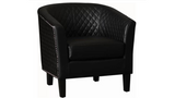 Leather Chairs (Black)