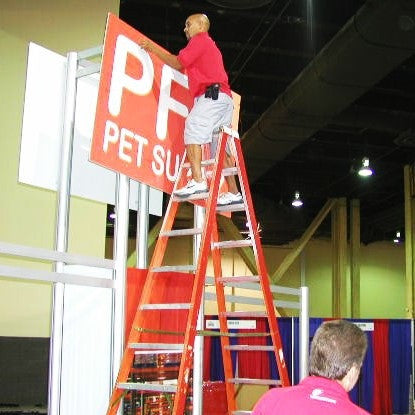 Labor for Setup of Booth/Exhibit (with booth rep supervision)