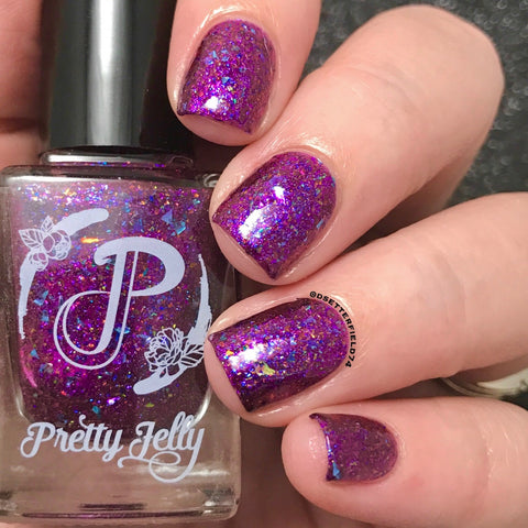Boysenberry Bay (Fantasmic Flakies August Group Custom)