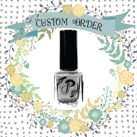 Custom Nail Polish Color: Personalized Gifts for Birthdays ...