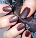 Holo nail polish, holographic, Pretty Jelly, Brocade, shimmer polish, indie nail lacquer, gift for her, handmade, vegan
