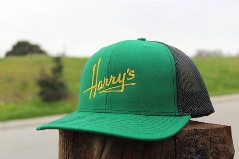 Green & Gold Trucker Hat
