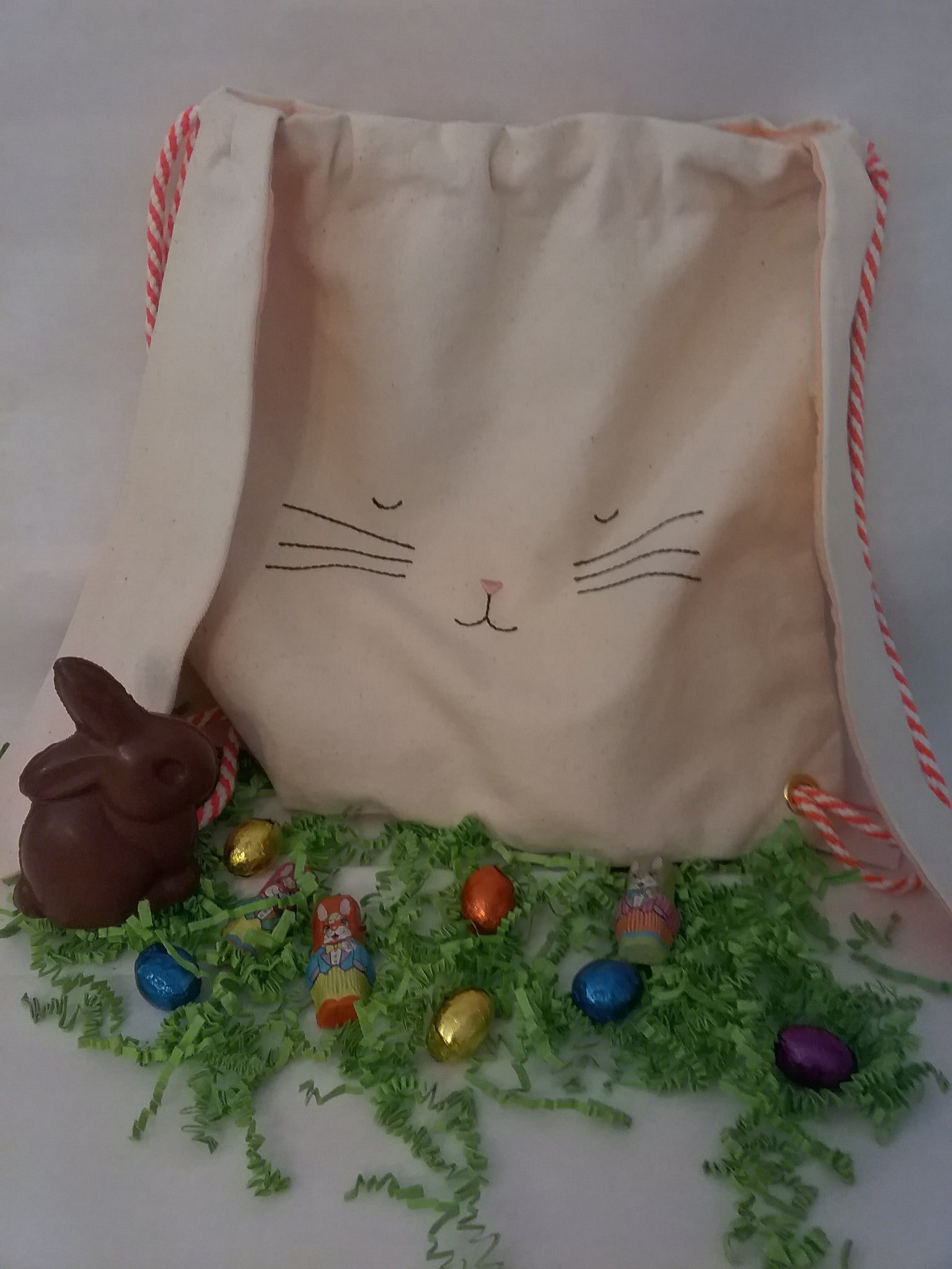 Meri Meri Canvas Bunny Backpack