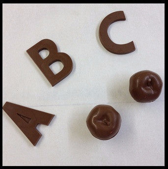 Milk Chocolate Letters