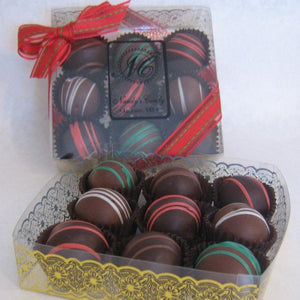 Assorted Liquior Truffles 9 piece box