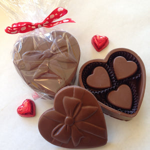 Chocolate Jewel Box (heart shaped)