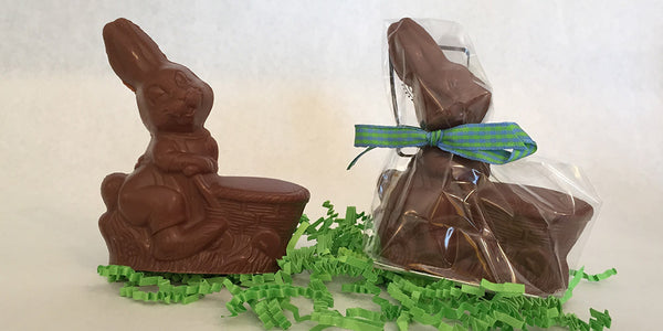 Chocolate Rabbit with Basket