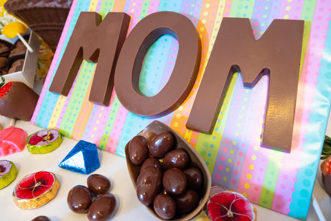 MOM in chocolate