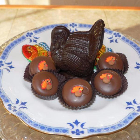 Chocolate Turkeys (medium)