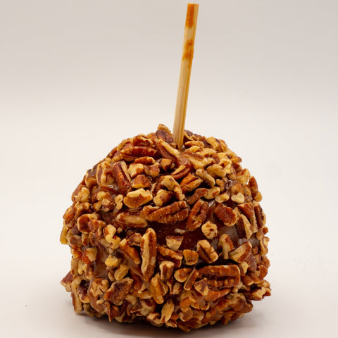 Caramel Apples with Pecans (Set of 3)