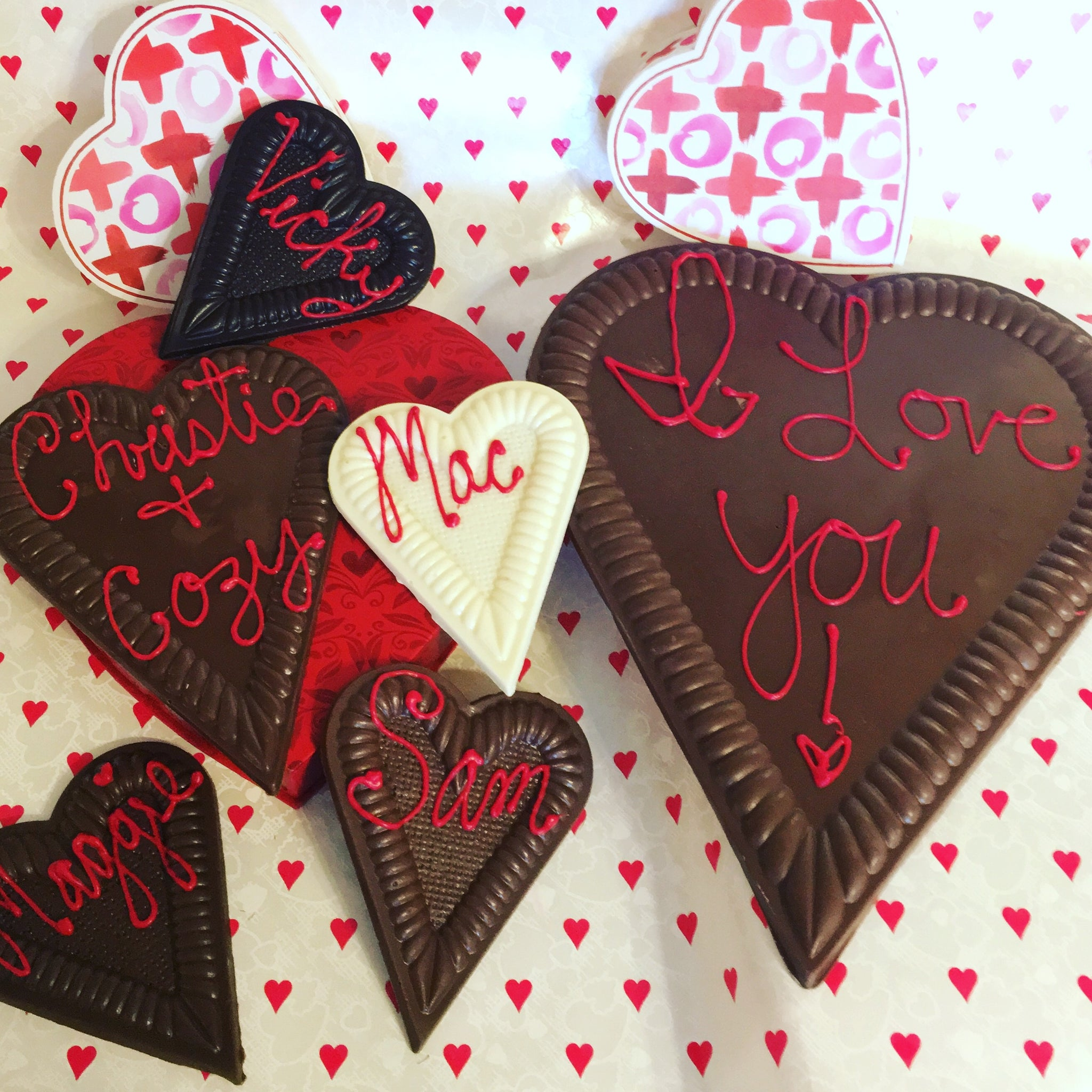 Personalized Chocolate Heart (small)