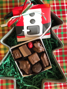 Santa's Box filled with assorted chocolates