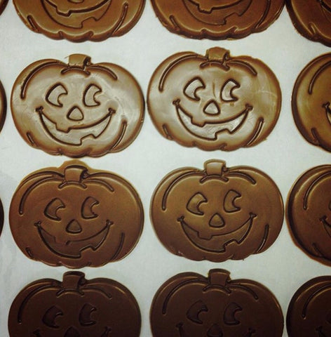 Milk Chocolate Happy Pumpkins