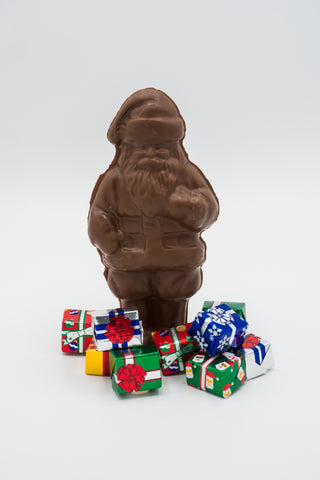 Hollow Chocolate Santa