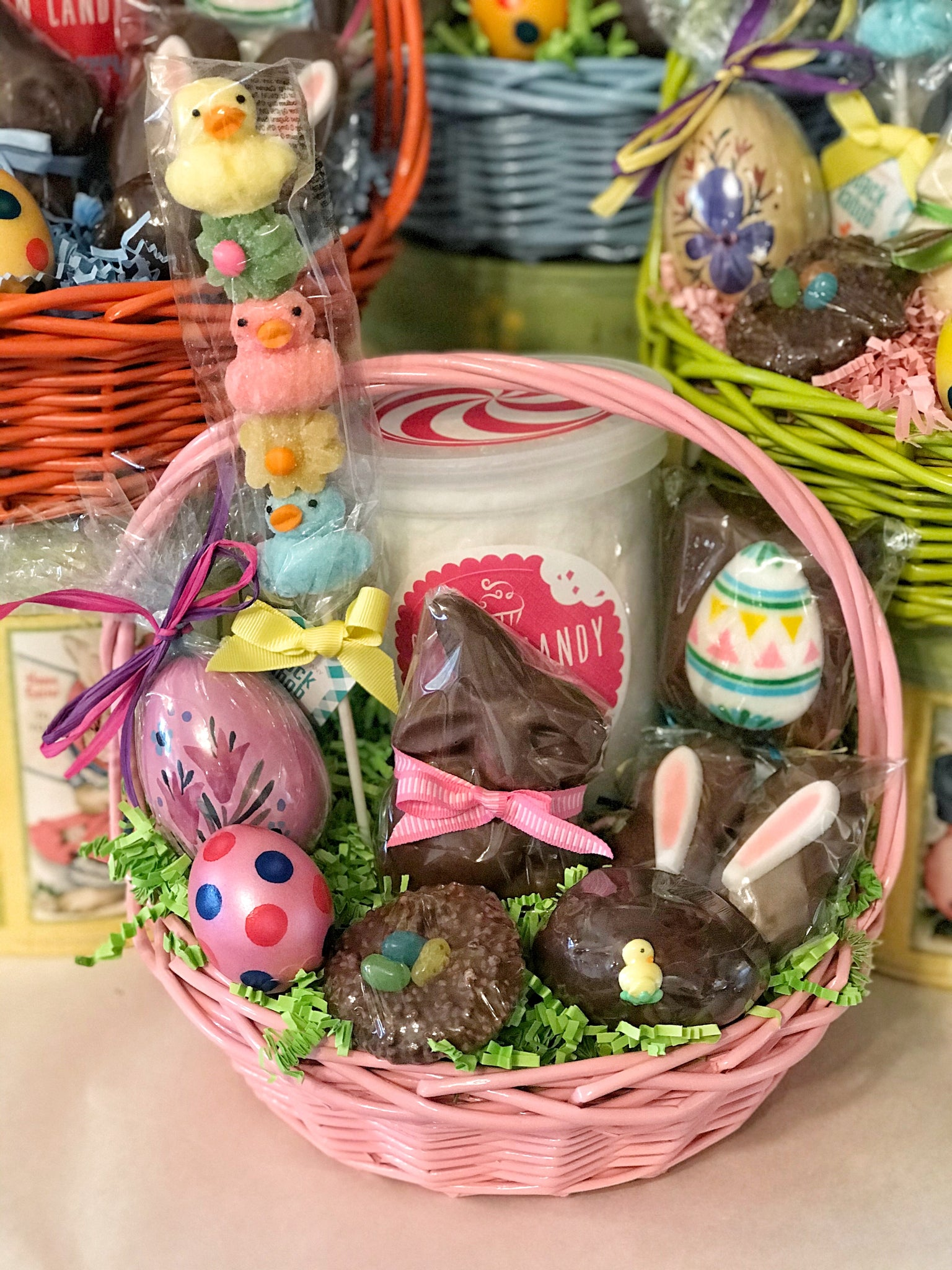 Bright Willow Easter Baskets